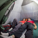 How Do You Sleep In A Tent