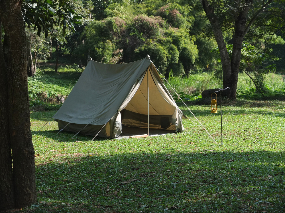 What is a frame tent