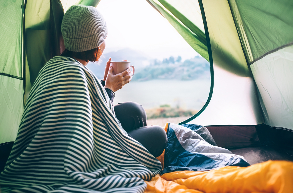 how cold is too cold for camping
