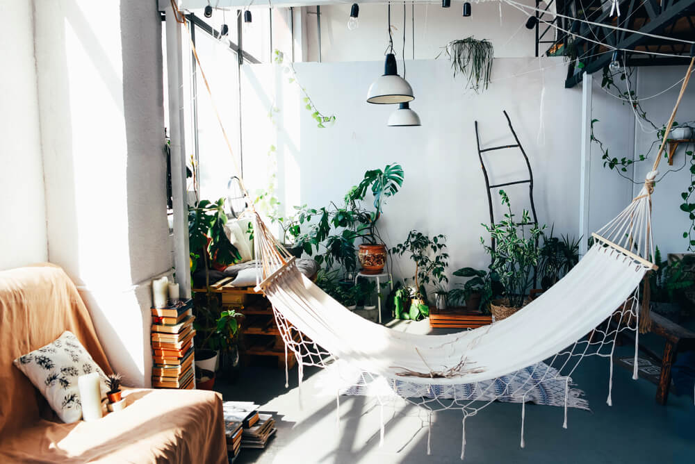 Hang a Hammock in Your Apartment